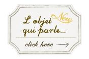 Feature,162  「L'objet qui parle...」
